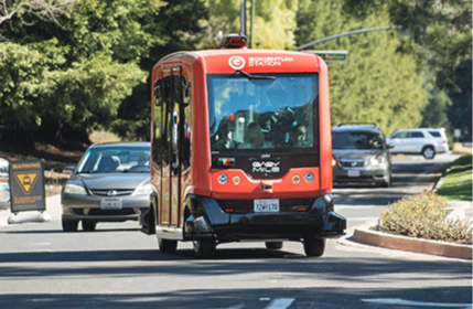 Testing Autonomous Shuttles in Northern California