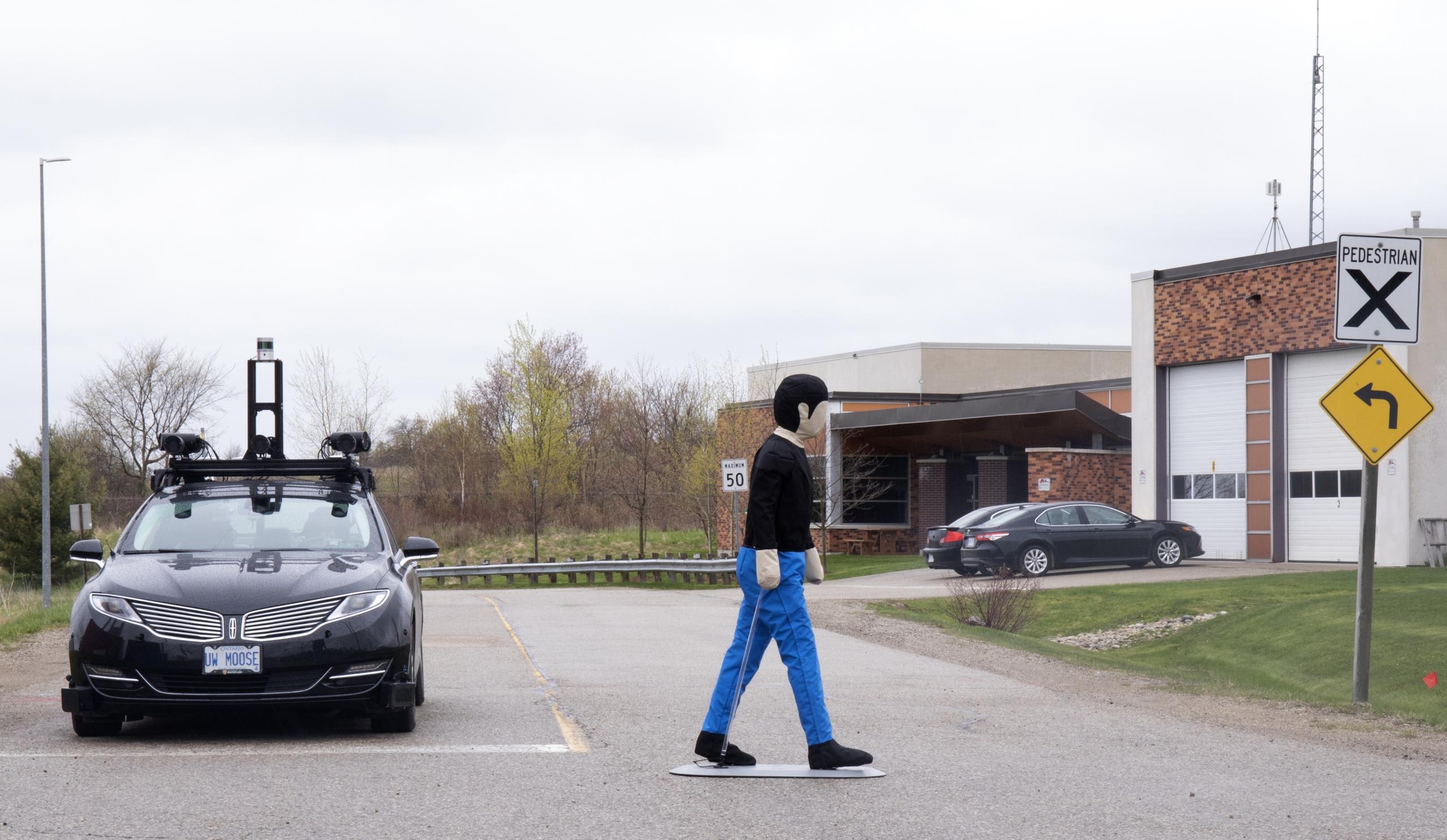 vehicle and test dummy